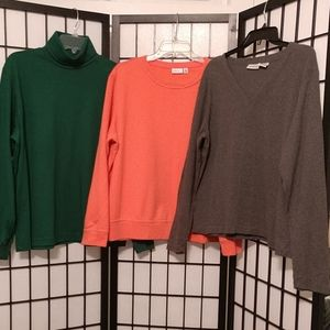 Tops - Bundle of 3 Long Sleeved Tops size XL